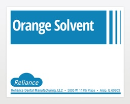 [3407] ORANGE SOLVENT GALLON